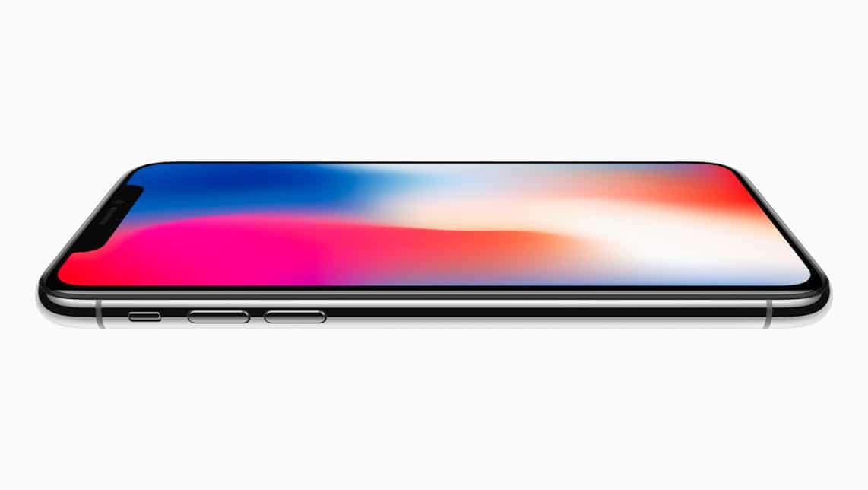 iPhone X kaufen - Seitenansicht